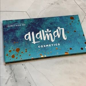 Brand new Alamar Cosmetics Blush Trio
